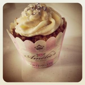 Caramel Cupcake mit Caramel Füllung